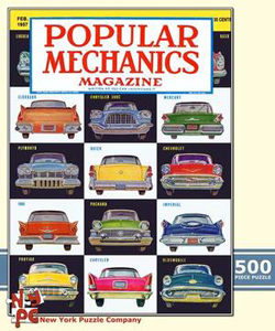 Classic Cars - February 1957 (Popular Mechanics) Magazines and Newspapers Jigsaw Puzzle